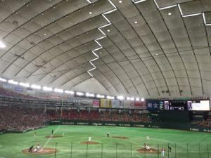 東京ドーム  巨人 VS 広島 2016/9/11