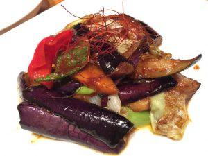 茄子味噌炒め 麺飯食堂 なかじま 渋谷