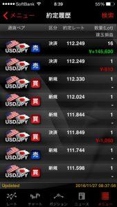 大きな含み損抱えつつも 堪えて月曜に期待 外為ジャパン FX パート3(元金60万円)②