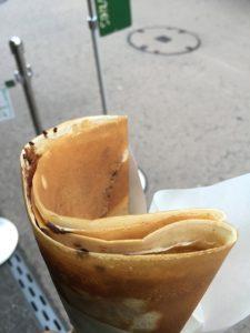 クレープ コクリコ 鎌倉 ラム酒チョコ