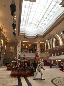 サンズ コタイセントラル Sands Cotai Central ⇒ ザ ベネチアン マカオ リゾート ホテル The Venetian Macao Resort Hotel ⇒ JW マリオット ホテル マカオ JW Marriott Hotel Macau へ