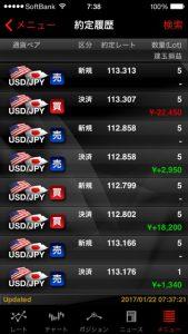やっぱり 逆指値は重要 外為ジャパン FX パート3(元金60万円)⑧