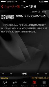 USD/JPY 終値 111.445 外為ジャパン FX パート4 トレーニング ⑦