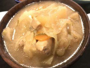 鯖味噌と豚汁 福市 新富町
