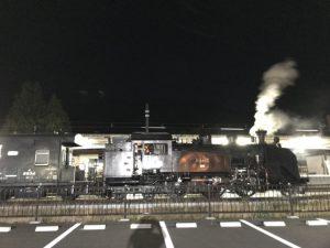 鬼怒川温泉駅 SL
