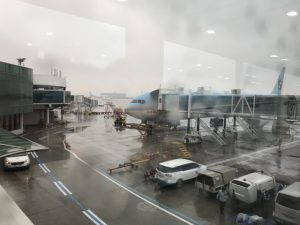 東京 羽田空港 → ソウル  金浦(ギンポ)国際空港へ