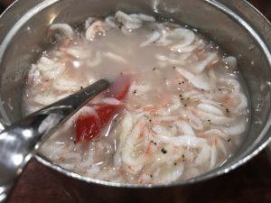干し鱈のスープ ムギョンドン・プゴグッチッ 市庁(シチョン)