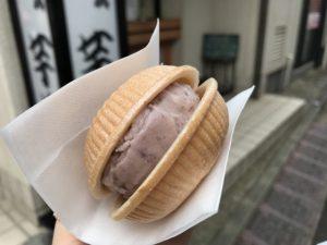 アイス モナカ 芋甚 (いもじん)根津